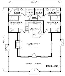 Dogtrot House Floor Plans 1277 Best House Plans Images On Pinterest Tiny House Plans
