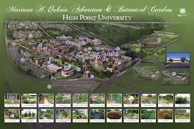 Marian University Map Gardens Mariana H Qubein Arboretum U0026 Botanical Gardens High