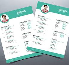 modern curriculum vitae template 40 best 2018 s creative resume cv templates printable doc