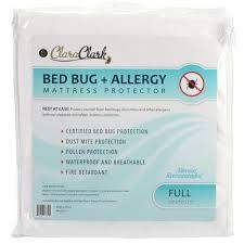 clara clark bed bug allergy waterproof mattress protector