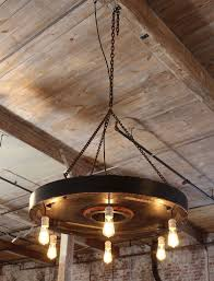 Chandelier With Edison Bulbs Vintage Industrial Rustic Chandelier Hanging Pendant Lighting Six