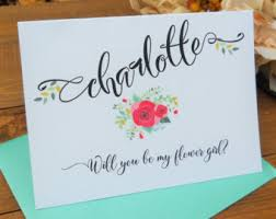 will you be my flower girl gift will you be my flower girl etsy