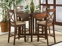Dining Room Sets For Small Spaces Home Design Casual Kitchen Tables Drop Leaf Dinette Sets Elegant