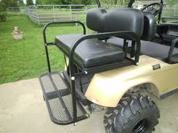 golf cart rear seats hunting golf cart products grizzly