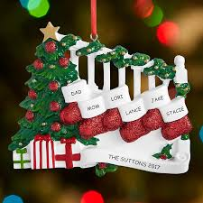 St Christmas Ornament Wedding - personalized christmas ornaments personal creations