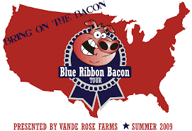 bacon ribbon bacon unwrapped june 2009