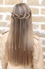 cute girl hairstyles diy loop waterfall braid by cute girls hairstyles such a cool pattern