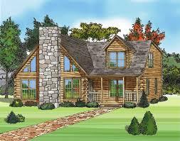elegant stone fireplace luxury log home plans classic design ideas