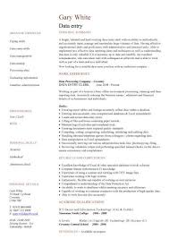 attractive inspiration data entry resume 10 best data entry clerk
