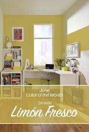 sherwin williams u0027 june color of the month limón fresco sw 9030