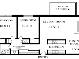 Apartment Layout by Download 2 Bedroom Apartment Layout Buybrinkhomes Com