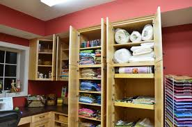 where love to be trends with sewing room storage furniture