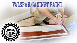 how to apply valspar cabinet paint valspar cabinet enamel painting cabinets without brush marks trade tips