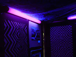 black light bedroom jill pelto artwork black lights