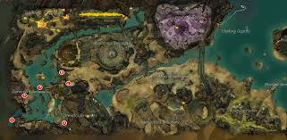 Gw2 World Map by Gw2 Master Storyteller And Risen Research Achievements Guide Dulfy