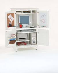 white computer armoire desk home styles hton computer armoire with louvered doors