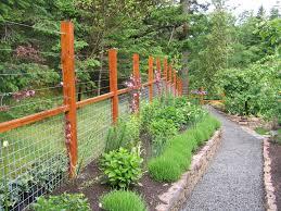 deer fence designs decorating ideas images in landscape