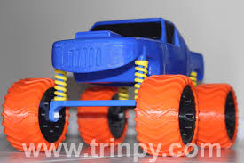 monster trucks video clips 30 parts u0026 100 print hours later trinpy founder successfully 3d