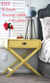 how to build an easy table how to build an x leg accent table free plans anika s diy life