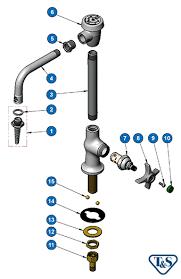 Laboratory Faucet Bl 5707 01 Lab Faucet Single Temp Vandal Resistant Rigid Vacuum
