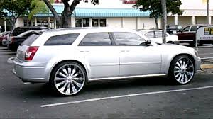 piefacepresentwhips dodge magnum on 26 u0027s avi youtube