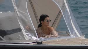 Hotel Du Cap Eden Roc Kendall Jenner Leaving Hotel Du Cap Eden Roc In Antibes By Boat