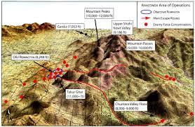 Korengal Valley Map Battle Of Takur Ghar Wikipedia