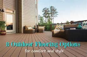 8 outdoor flooring options for style comfort flooringinc