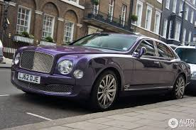 purple bentley mulsanne bentley mulsanne 2009 17 november 2012 autogespot