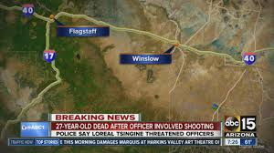 Winslow Arizona Map by Woman Shot And Killed By Winslow Police Youtube