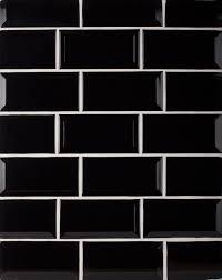 Kitchen Wall Tile Biselado Negro Kitchen Wall Tile Creates A Great Reflective