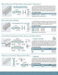 Shower Seals For Glass Doors Glass Shower Door Fixed Screen Seals Thresholds Available For