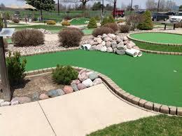 miniature golf tee aire golfdriving range and miniature golf