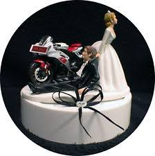 motorcycle wedding cake toppers motorcycle cake topper ebay