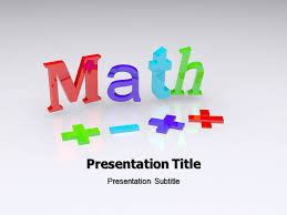 mathematics powerpoint template free download gavea info