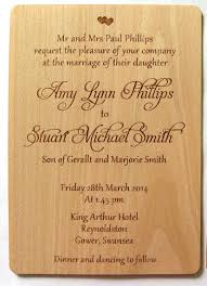 wedding invitation wooden invitation rustic invitation wood