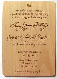 wedding invitation wooden invitation rustic invitation wood
