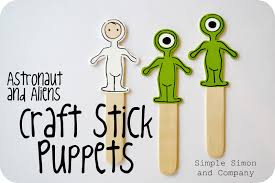 gallery for u003e craft stick spaceman preschool pinterest craft