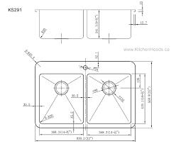 Kitchen Sink Width Kitchen Sink Measurements Houseoutlinepw Standard Size Kitchen