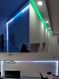 Wohnzimmer Bar Beleuchtet 10 Meter Pu Spots Kasten Led Leuchten Stuck Deckenprofil Stoßfest