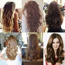 model rambut keriting gantung 80 gaya rambut panjang wanita untuk wajah bulat yang disukai pria