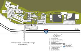 State College Map by Campus Maps Cleveland State Community College Acalog Acms