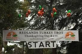turkey run thanksgiving day redlands educational partnership foundation redlands turkey trot