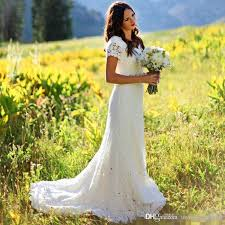 wedding dress makers 2017 vintage classic a line bridal gowns with sleeve lace