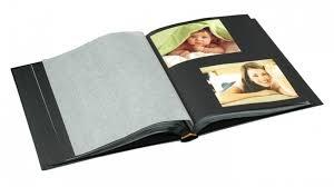 photo album with black pages ur1 drymount 60 black page photo album with silver sting