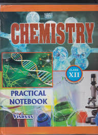 vishvas chemistry practical notebook class 12 price in india