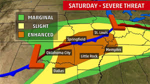 Weather Map Dallas by Video Severe Weather Outbreak Possible This Weekend