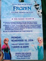 Frozen Christmas Light Show by Frozen Holiday Premium Package U2013premium Price For Premium