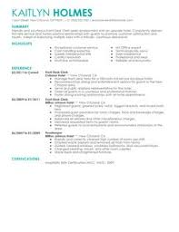 Hospitality Resume Sample by Customer Service Front Desk Clerk Resume