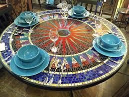 Diy Mosaic Table Patio Ideas Diy Mosaic Tile Outdoor Table Mosaic Tile Outdoor